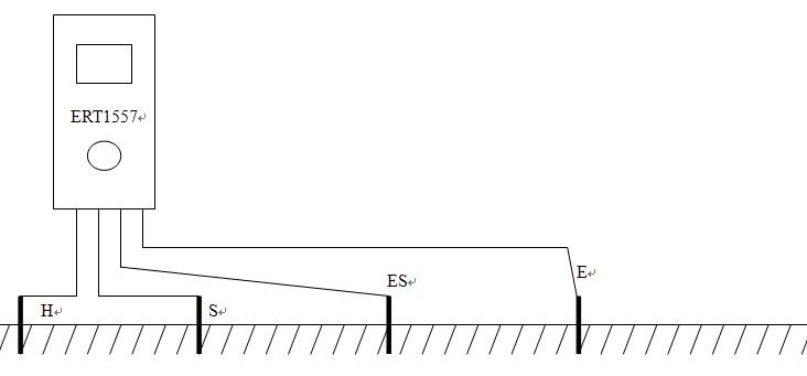 ert1557接地电阻测试仪的连接方式|接地电阻测试仪的